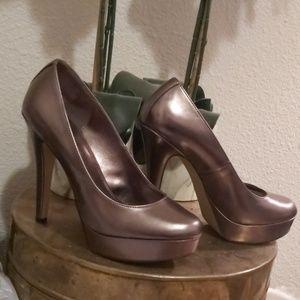 ELLE metallic 5.5 inch pumps